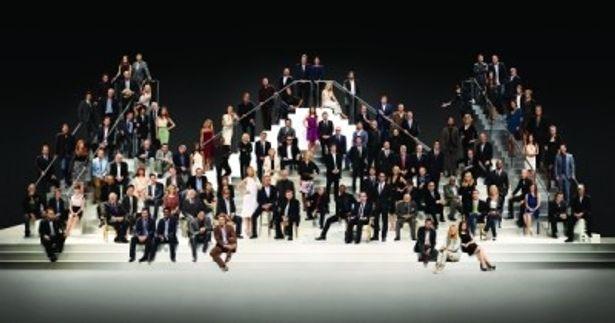 パラマウント ピクチャーズ生誕100周年を記念した写真撮影にはハリウッドのトップスター116人が集結