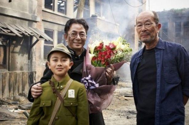韓国で『少年H』のクランクアップで迎えた水谷豊