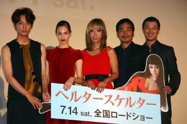 『ヘルタースケルター』のジャパンプレミアが開催