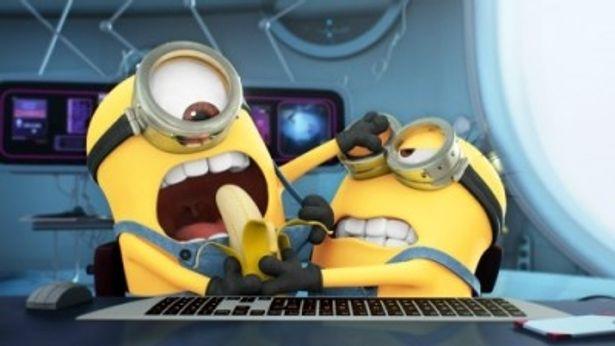 ミニオンたちが活躍する短編「ミニオンのバナナ争奪ゲーム!」