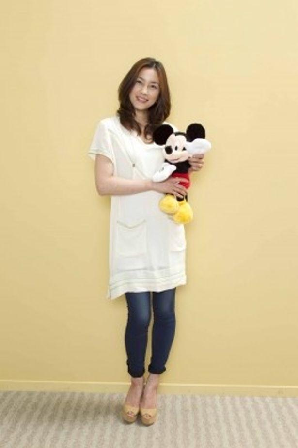 子供向け番組「ディズニー ポエム・タイム」で朗読を担当する瀬戸朝香