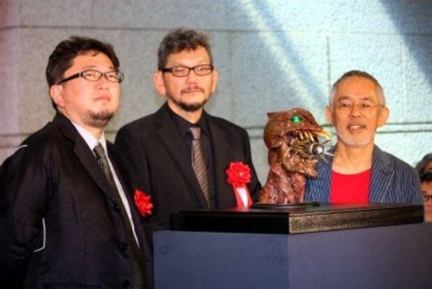庵野秀明が館長を務める「特撮博物館」記者発表会が開催