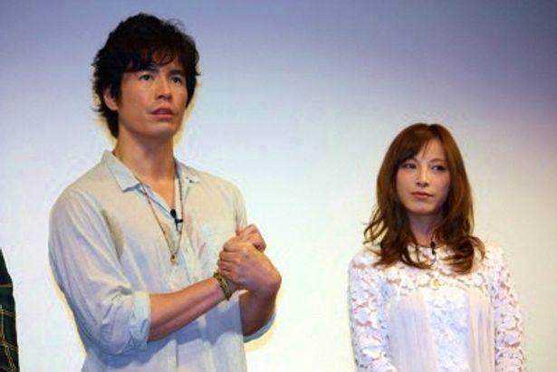 『海猿』シリーズ4作品イッキ見!イベントに登壇した伊藤英明と加藤あい
