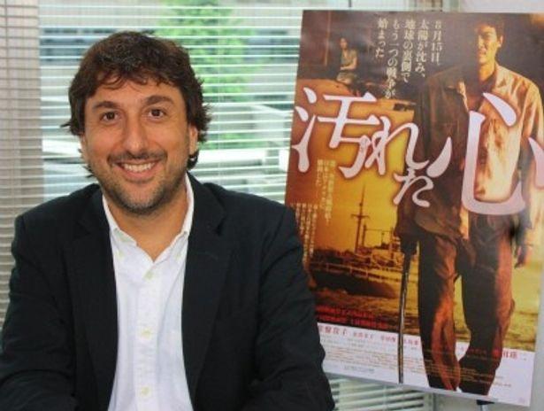 ブラジル映画『汚れた心』を監督したヴィセンテ・アモリン監督