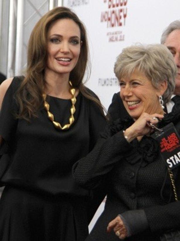 アンジェリーナとジェーンは、オバマ大統領の支持を巡って対立