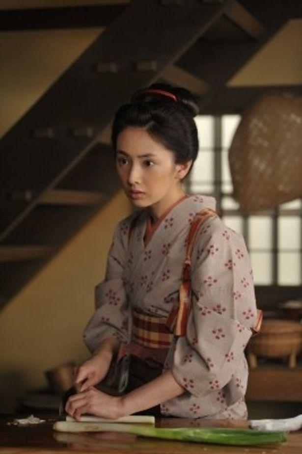 女料理人・澪を演じる北川景子