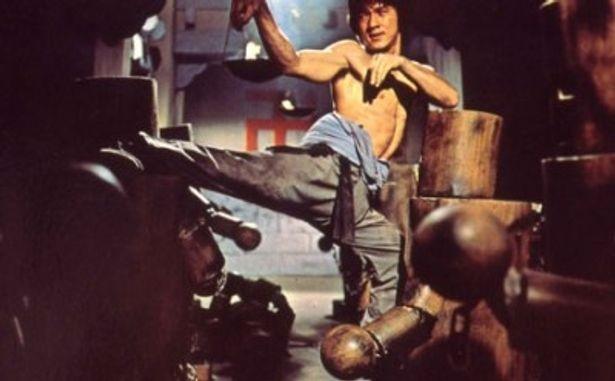 数十体の木人との戦いぶりが最大の見ものの『少林寺木人拳』