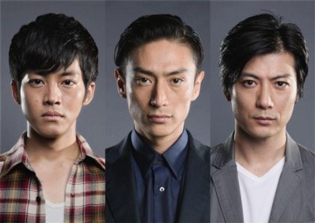 日航機墜落事故の遺族を演じる伊勢谷友介、玉山鉄二、松坂桃李