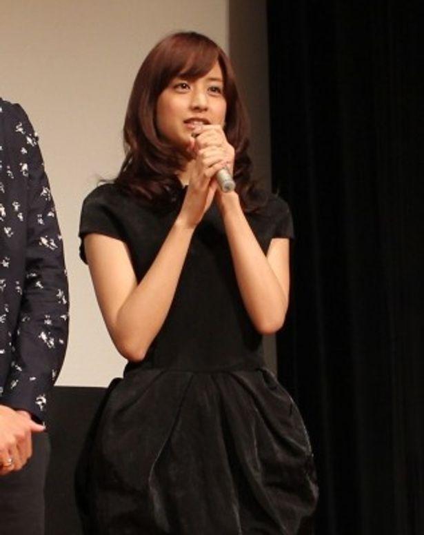 「みんなに支えられた」とコメントした山本美月も本作が映画初出演