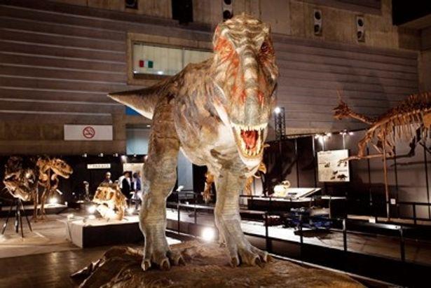 本物のような動きに興奮!アジア最大の肉食恐竜「タルボサウルス」のロボット。まばたきまでリアル!