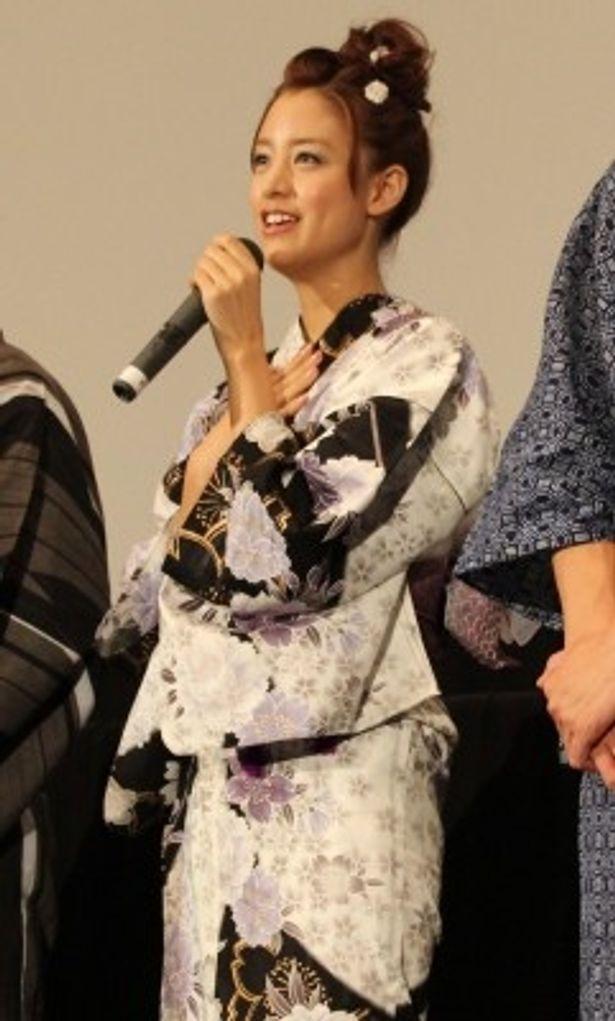 校内一のイケてる女子、梨紗役を演じた山本美月