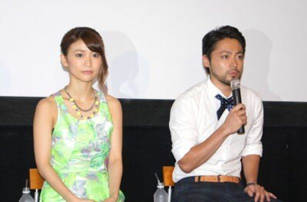 ティーチイン付き試写会に登場した山田孝之と大島優子(写真右から)