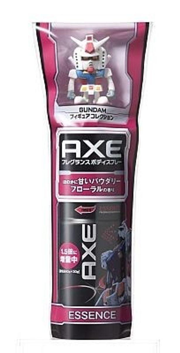 人気男性化粧品「AXE」がガンダムとコラボ!