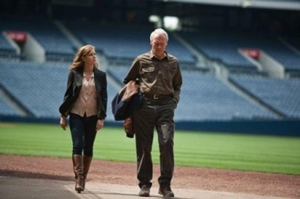 『人生の特等席』で野球に生涯を捧げる男ガスを演じるクリント・イーストウッド