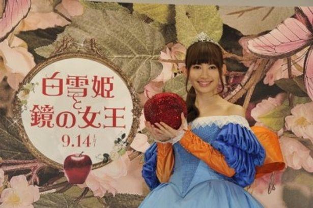 CMオピニオンに就任したAKB48・小嶋陽菜