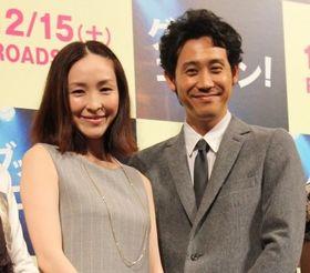 麻生久美子が出産後の初ステージ!「お腹の中にいると、また違った気持ちで臨めた」