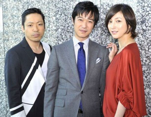 『鍵泥棒のメソッド』の堺雅人、香川照之、広末涼子にインタビュー!