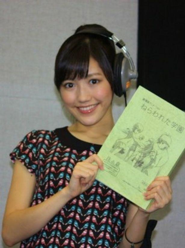 アニメ映画『ねらわれた学園』のヒロインの声優を務める渡辺麻友