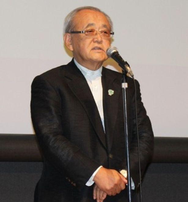 第25回東京国際映画祭チェアマンの依田巽氏