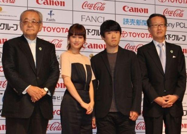東京国際映画祭の記者会見が開催された