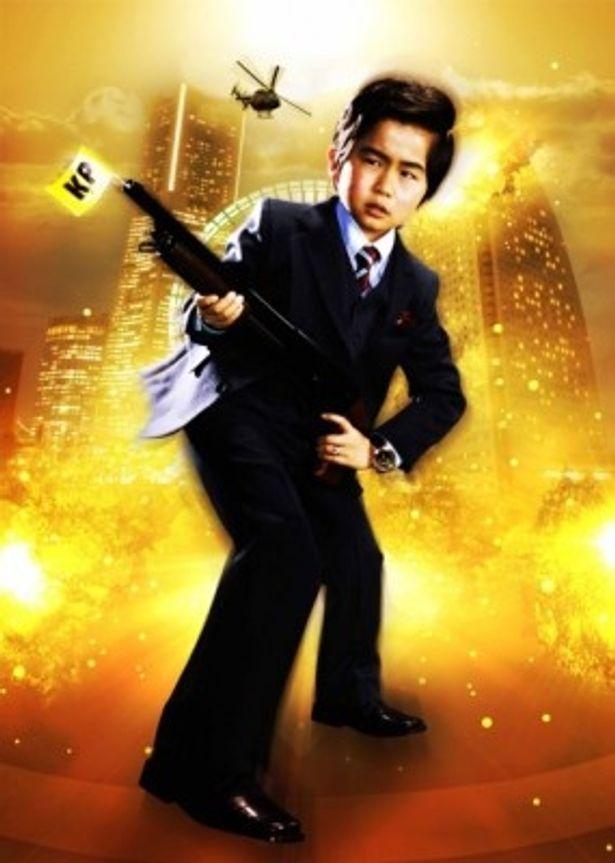 映画化が決まった「コドモ警察」で中年刑事を演じる鈴木福