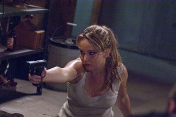 『ハンガー・ゲーム』で不動の人気を獲得したジェニファー・ローレンスが怯え、叫びまくる!