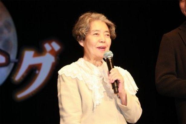 歩美の祖母の渋谷アイ子役の樹木希林