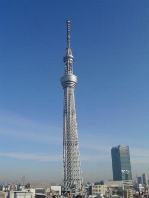 東京スカイツリーは圧倒的人気で2012年新スポットのトップに!