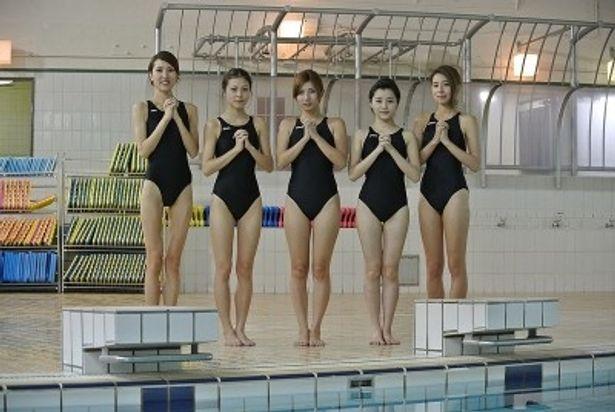 10月2日(火)スタートの「ガールズトーク」で、シスターたちが水着姿に!