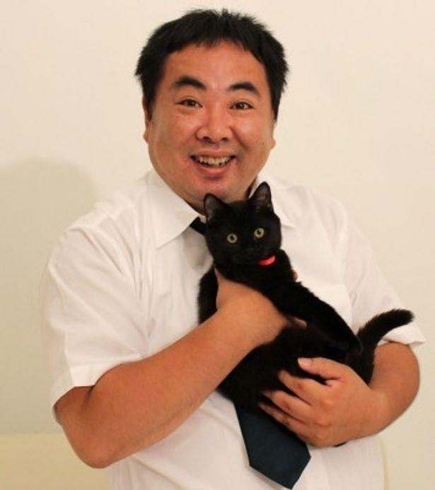 『くろねこルーシー』で初の単独主演を果たした塚地武雅にインタビュー!