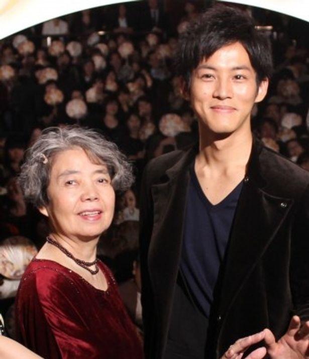 『ツナグ』初日舞台挨拶に登壇した松坂桃李と樹木希林