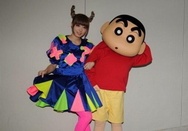 10月19日(金)からの「クレヨンしんちゃん」新主題歌を担当するきゃりーぱみゅぱみゅ