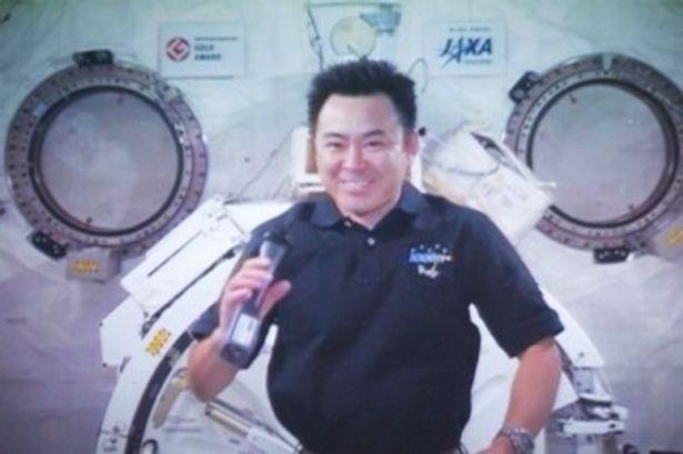宇宙からのアフレコを無事に終えた宇宙飛行士・星出彰彦さん