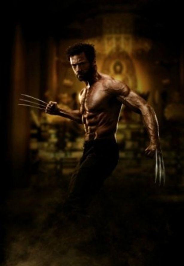 『ウルヴァリン:SAMURAI』でウルヴァリンを演じるヒュー・ジャックマン