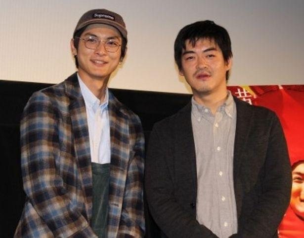 『横道世之介』高良健吾と沖田修一監督が舞台挨拶に登壇