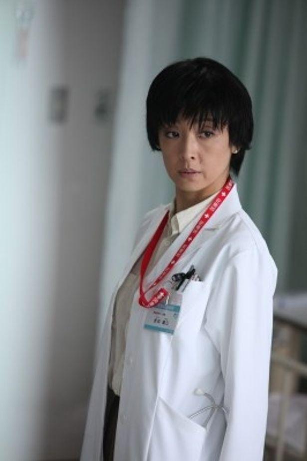 『終の信託』でヒロイン折井綾乃役を熱演した草刈民代
