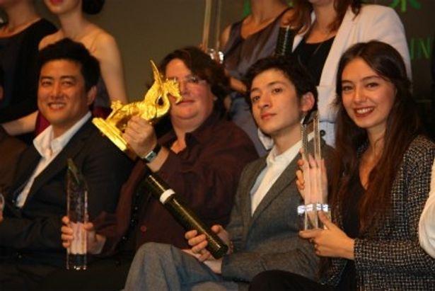 第25回東京国際映画祭の授賞式が開催