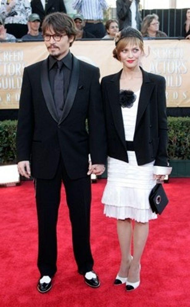 【写真を見る】今年6月、14年間のパートナーシップを解消したジョニー・デップとヴァネッサ・パラディ