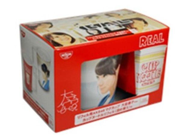 AKB48マグカップとカップヌードルリフィルのセット商品が登場