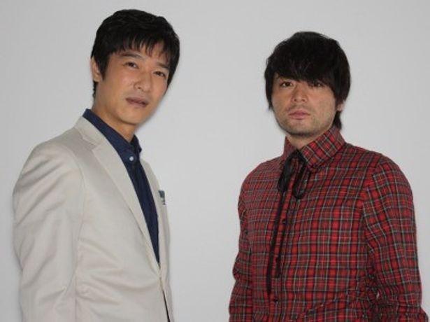 『その夜の侍』で初共演した堺雅人と山田孝之