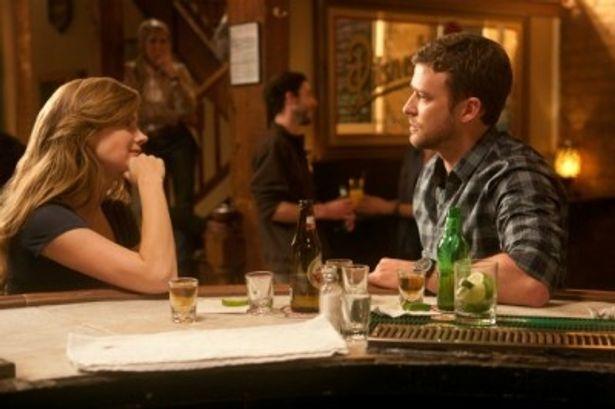 『人生の特等席』に出演したエイミー・アダムスとジャスティン・ティンバーレイク