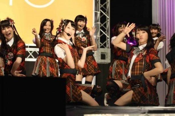 11thシングルの発売日決定を発表したSKE48