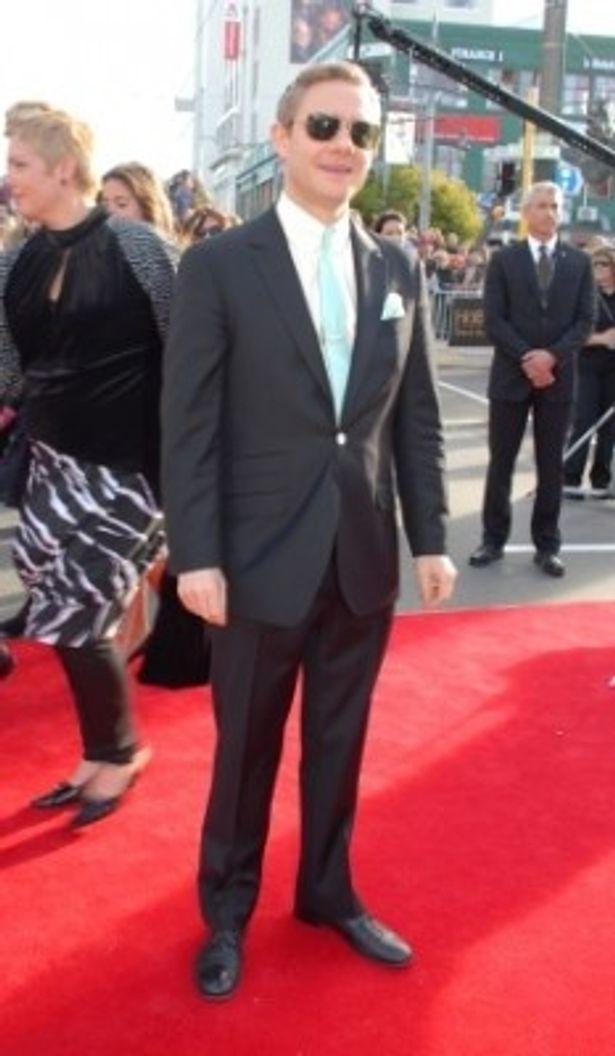 ビルボ・バギンズを演じるマーティン・フリーマン