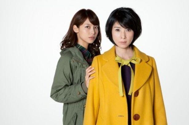 新感覚の嫁姑ドラマに出演する相武紗季と黒木瞳(写真左から)