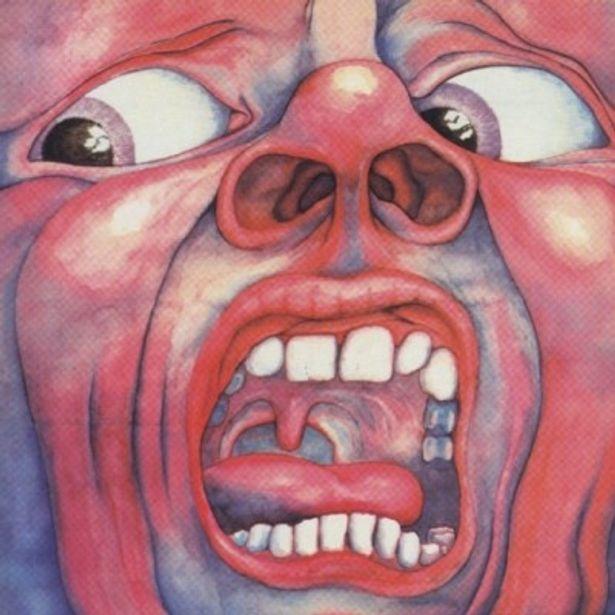 『脳男』主題歌「21世紀のスキッツォイド・マン」が収録されたアルバム「クリムゾン・キングの宮殿」