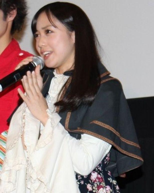 仮面ライダーウィザードのコヨミ役の奥仲麻琴