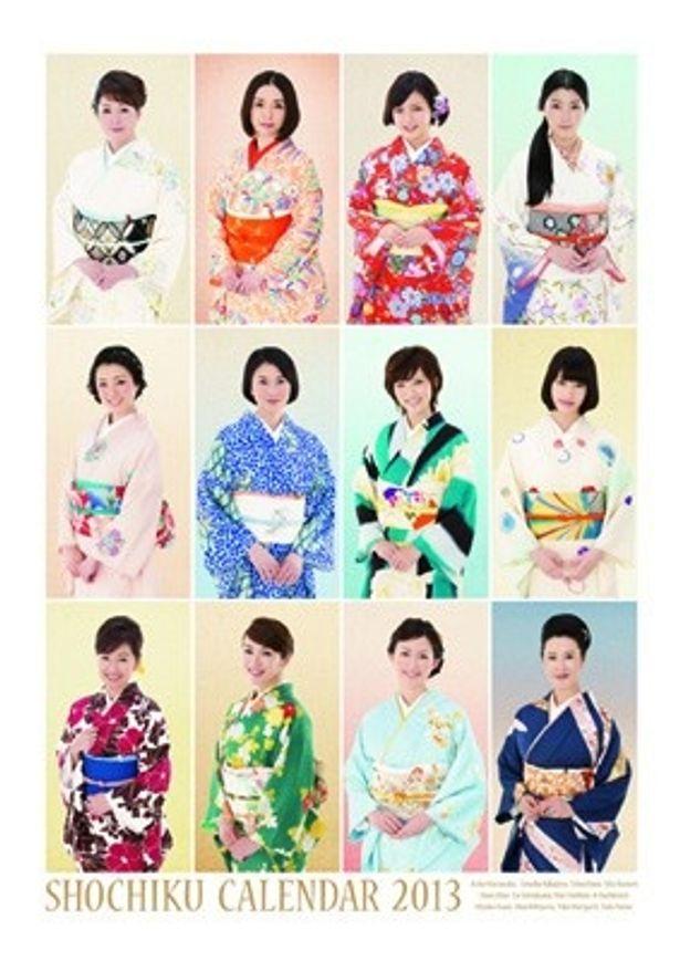 松竹2013年版も正月にぴったりの落ち着いた雰囲気。橋本愛、成海璃子、真野恵理菜が初登場