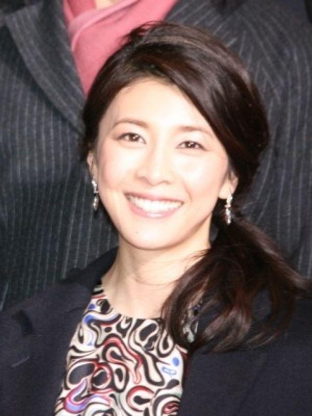 『ストロベリーナイト』レッドカーペットアライバル&完成会見に出席した竹内結子
