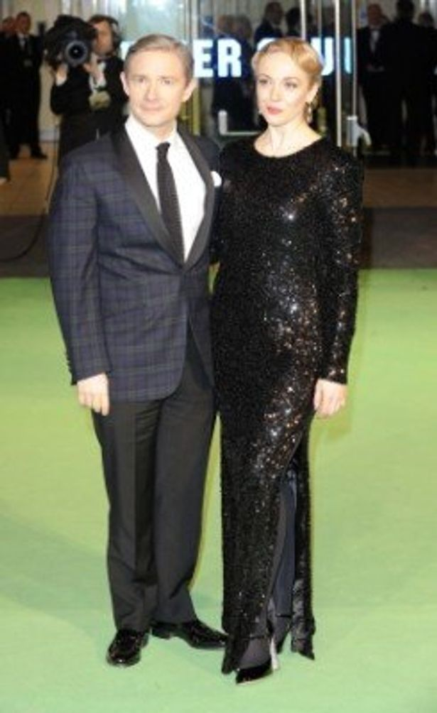 マーティン・フリーマンはBBC「SHERLOCK」のジョン・ワトソン役で有名