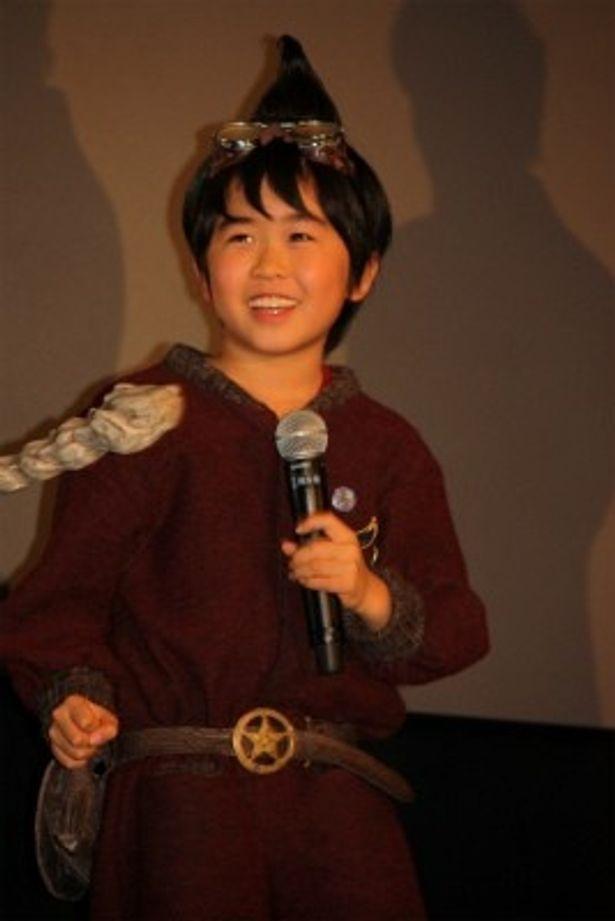 『妖怪人間ベム』初日舞台挨拶に登壇した鈴木福